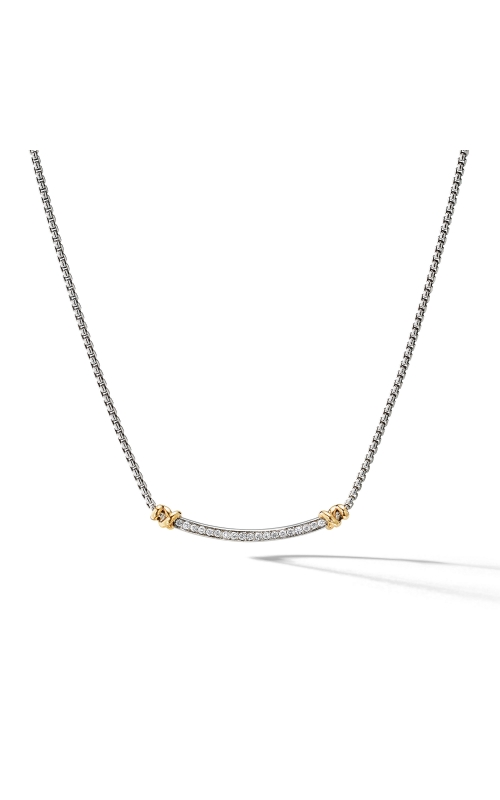 Petite Helena Station Necklace with 18K Yellow Gold and Diamonds product image