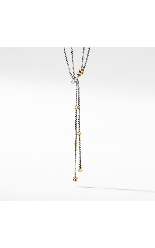 Petite Helena Y Necklace with 18K Yellow Gold and Diamonds product image