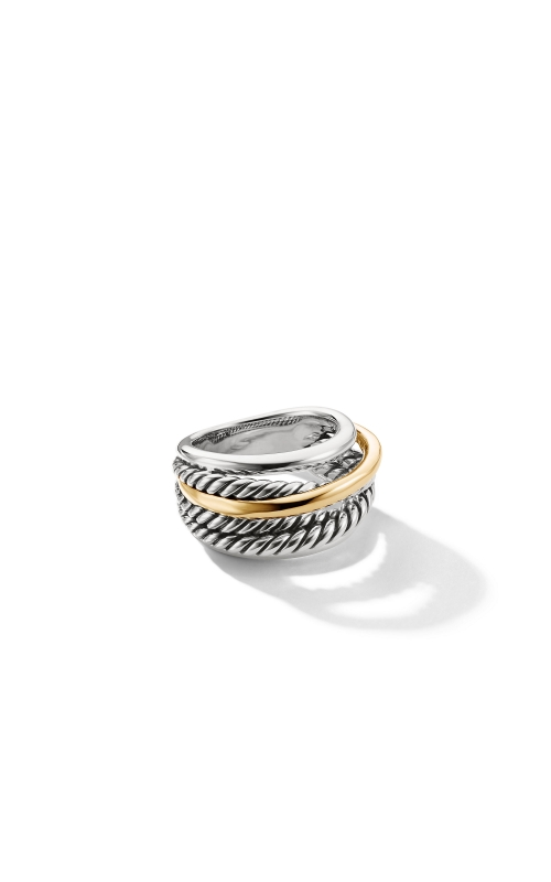 Crossover Narrow Ring with Gold product image