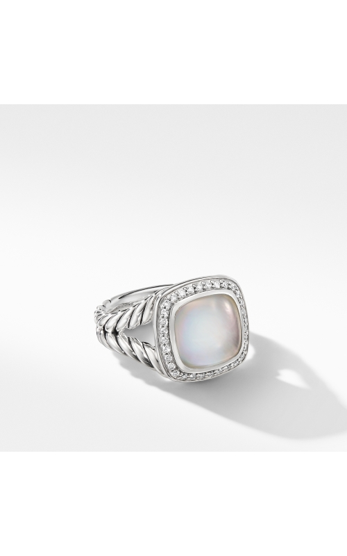 Albion® Ring with Rock Crystal and Diamonds product image