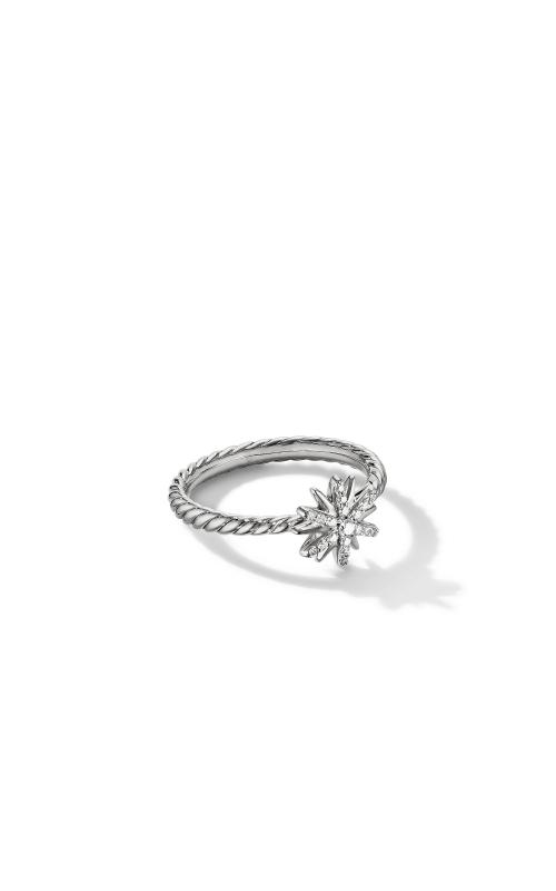 Petite Starburst Station Ring with Pavé Diamonds product image