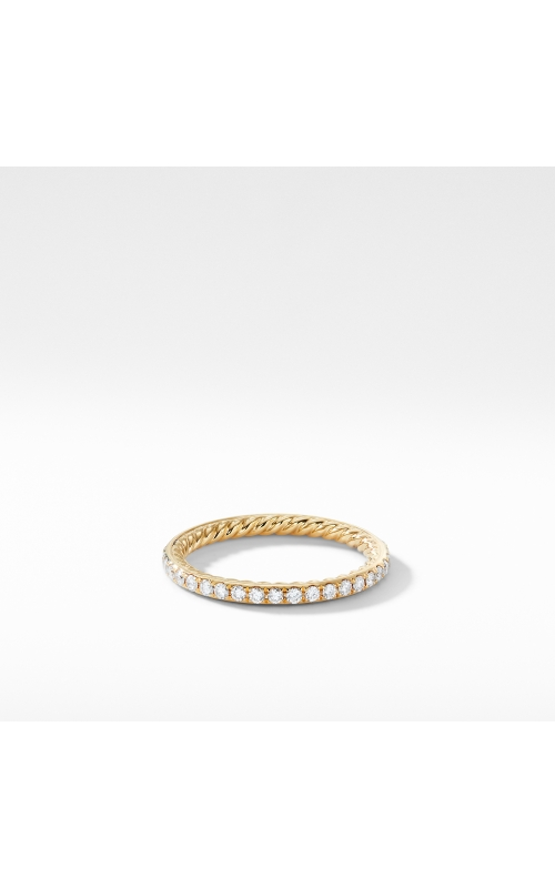 DY Eden Band Ring in 18K Yellow Gold with Diamond product image