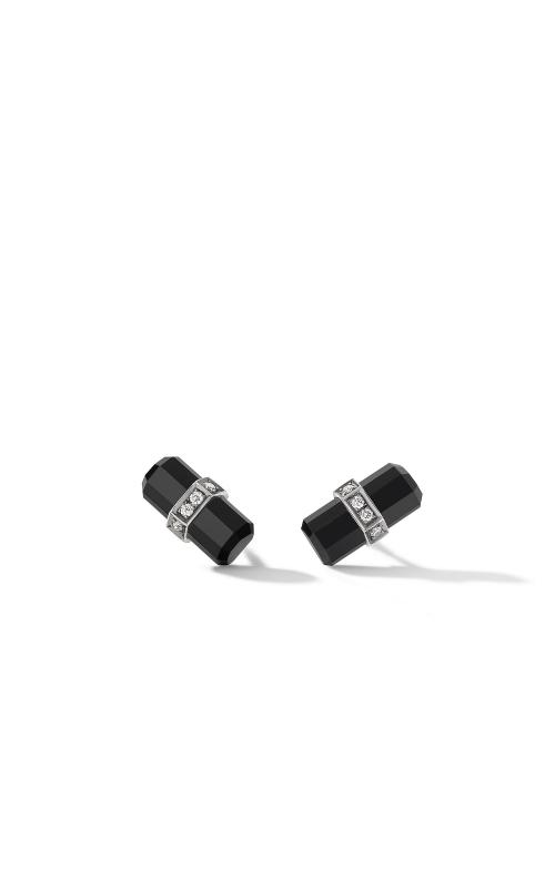 Lexington Stud Earrings with Black Onyx and Diamonds product image
