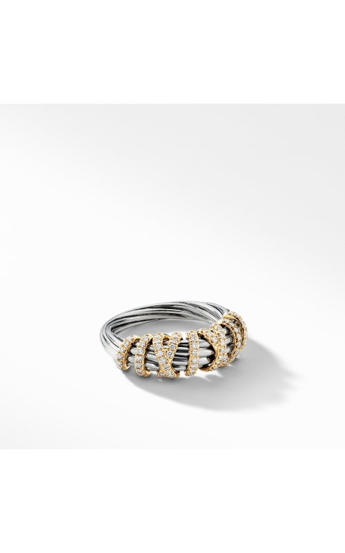 Helena Ring with Diamonds and 18K Gold, 8mm product image