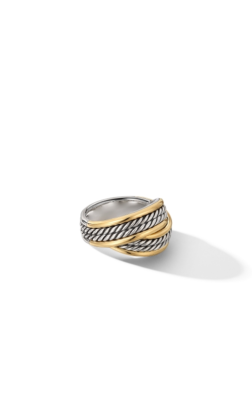 DY Origami Ring with 18K Yellow Gold product image
