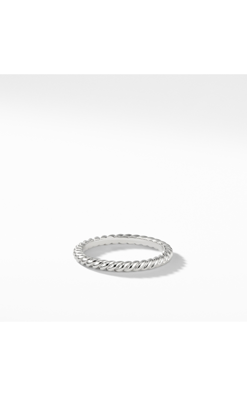 DY Unity Cable Band Ring in Platinum product image