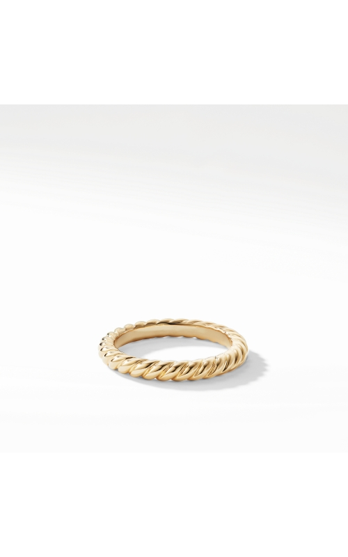 DY Unity Cable Band Ring in 18K Yellow Gold product image