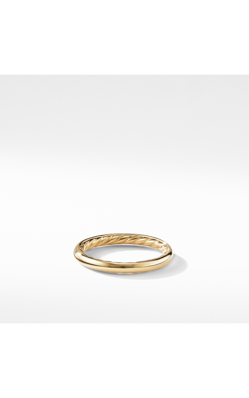 DY Eden Band Ring in 18K Yellow Gold product image