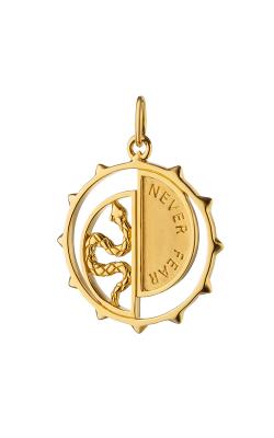 Monica Rich Kosann Medallion CH-SNAKEMED-YG product image